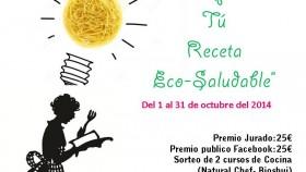 "I Concurso de cocina ""Comparte Tú Receta Eco"